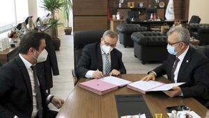 Trakya Üniversitesi ile Keşan Belediyesi arasında, hizmet içi protokolü imzalandı