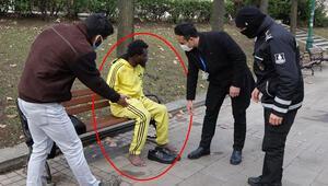 Gezi Parkında tir tir titrerken bulunduŞoke eden anlar...