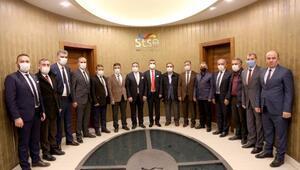 Esnaf Kooperatifi başkan adayı Dursundan STSOya ziyaret