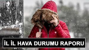 Hafta sonu hava nasıl olacak MGM 16-17 Ocak İstanbul, Ankara, İzmir ve il il hava durumu Pazar günü yoğun kar yağışı