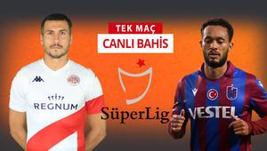 Trabzonspor yeni transfer Beratı evde bıraktı Antalyaspor karşısında galibiyetlerine iddaada...