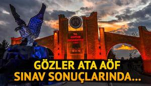 ATA AÖF sınav sonuçları ne zaman açıklanacak Atatürk Üniversitesi final sınavları tamamlandı