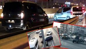 İstanbul trafiğinden ilginç görüntüler Kural tanımıyorlar...