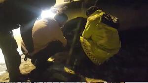 Sivasta jandarma trafik timlerinden kış lastiği denetimi