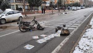 Konya'da gazete dağıtıcısı Hasan Dayanın acı ölümü... Yürek burkan detay
