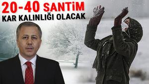 İstanbulda kar ne zaman yağacak MGMden çok önemli uyarı: Kar kalınlığı 20-40 cm arasında olacak