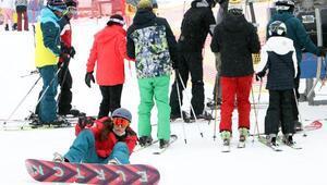 Palandökende, kısıtlamada kayak keyfi