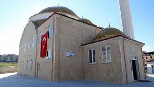 Lüleburgazda hayırsever tarafından yaptırılan cami ibadete açıldı
