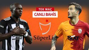 Galatasaraylıların %10'u Beşiktaş galibiyetine oynuyor Derbinin iddaada favorisi...