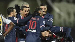 Angersi mağlup eden PSG, yeniden lider