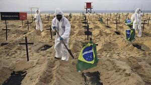 Güney Amerika ülkelerinde koronavirüs salgını