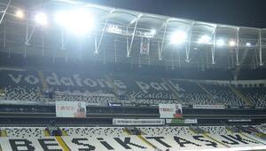 Beşiktaş Galatasaray derbisi öncesi Vodafone Park'ta son durum