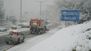Mustafakemalpaşa Belediyesinde kar seferberliği