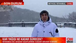 Bünyamin Sürmeli İstanbuldaki kar yağışı ile ilgili bilgi verdi