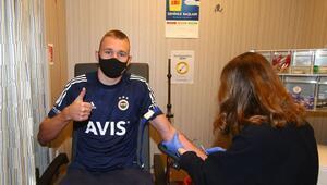 Fenerbahçede yeni transfer Attila Szalai, sağlık kontrolünden geçti