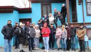 Turistler Afyonkarahisarı gezdi