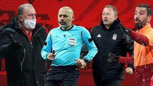 Beşiktaş-Galatasaray derbisine damga vuran kararlar Cüneyt Çakırın düdüğü sonrası...