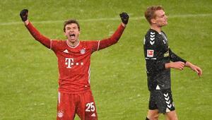 Bayern Münih, sahasında Freiburgu 2-1 yendi