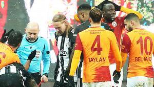 Beşiktaş derbisinde kırmızı kart gören Diagneden paylaşım Hakemler...