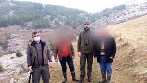 Tokatta uygunsuz avlanan 5 kişiye 20 bin lira ceza