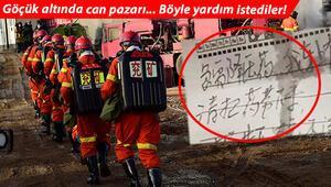 Çinde meydana gelen maden faciasıyla ilgili flaş gelişme