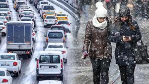 Son dakika... İstanbulda kar yağışı ne zaman sona erecek İşte Meteorolojinin son hava durumu raporu...