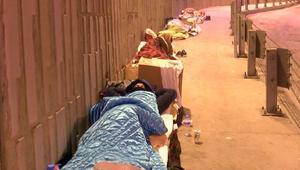 İstanbul soğuğunda evsizler için en zor gece