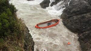 Bartında batan gemide kaybolan 3 kişi aranıyor... Vali Günerden açıklama