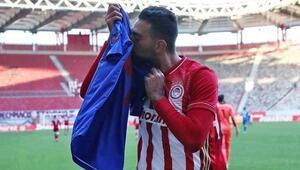 Olympiakos Omar Elabdellaouiyi unutmadı Golü armağan etti...
