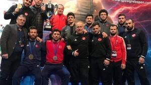 Grekoromen Güreş Milli Takımı, Hırvatistanda şampiyon oldu