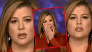 CNN spikeri canlı yayında gözyaşlarına boğuldu