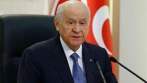 MHP lideri Bahçeli ilk kez konuştu: MHPnin sokakta işi yok, komplo...