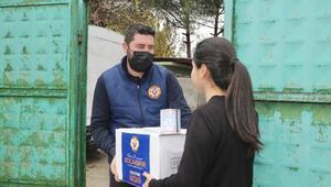 Yüreğir Belediyesi, 70 bin gıda kolisi dağıttı