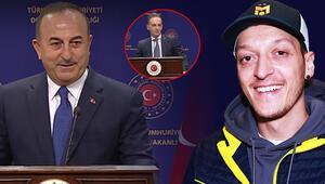 Almanya Dışişleri Bakanı Maastan Mesut Özil yorumu Dışişleri Bakanı Mevlüt Çavuşoğlunun cevabı...