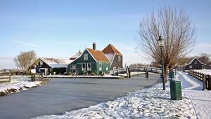 Hollanda'nın kakao kokulu köyü: Zaanse Schans