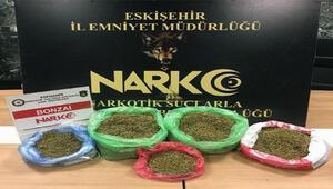 Eskişehirde uyuşturucu operasyonuna 6 tutuklama