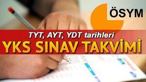 Üniversite sınavı ne zaman yapılacak ÖSYM 2021 YKS (AYT, TYT, YDT) tarihini paylaştı