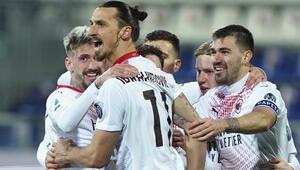 İbrahimovic attı, Milan galibiyetlerine bir yenisini ekledi