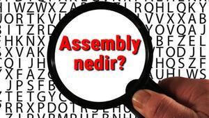 Assembly nedir Assembly programlama dili hakkında bilgi