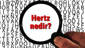 Hertz nedir Hz ne demek Hertz birimi ve sembolü
