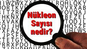 Nükleon Sayısı nedir Nükleon Sayısı nasıl bulunur