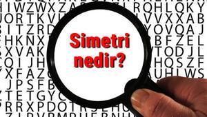 Simetri nedir Simetrik ne demek Simetri TDK kelime anlamı