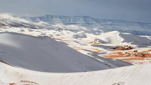 Sahra Çölüne kar yağdı - Sahra Çölü nerede