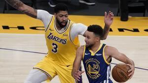 NBAde Gecenin Sonuçları | Lakersın 5 maçlık galibiyet serisine Warriors son verdi