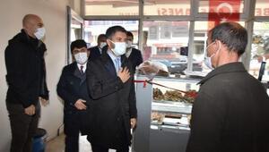 Başkan Mehmet Aydan ilçelere ziyaret