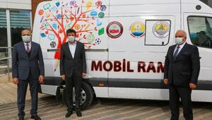Erdemli'de engelliler için mobil rehabilitasyon