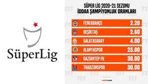 Süper Ligde şampiyonluk oranları güncellendi Galatasaray, Beşiktaşa kaybedince iddaada...