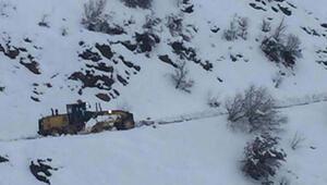 Adıyamanda 207 köy yolu ulaşıma kapandı