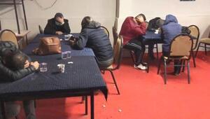 Eskişehir'de kumar baskını 58 kişiye 260 bin TL ceza