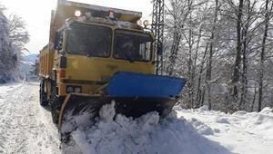 Zonguldakta 126 köy yolu ulaşıma kapandı